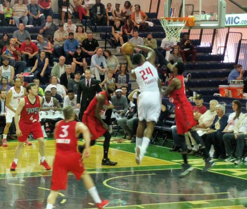 Red Claws vs. Raptors905
